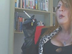 Smoking, Leather, Gloves, Xhamster