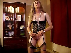 Crossdresser, Dress, Cumshot, Xhamster