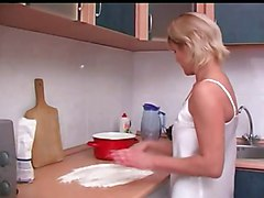 Kitchen, Russian, Old And Young, Xhamster
