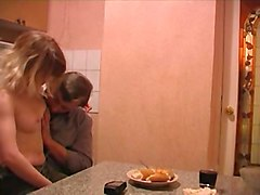 Kitchen, Old And Young, Xhamster