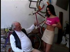 Teen, Money, Old Man, Xhamster