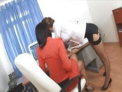 Office, Secretary, Threesome, Xhamster