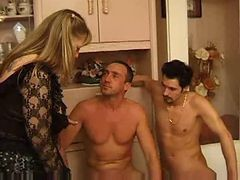 French, Threesome, Mature, Xhamster