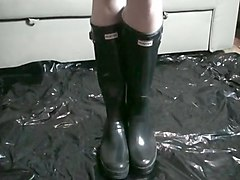 Boots, Black, Rubber, Xhamster