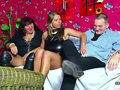 Teen, German, Couple, Threesome, Xhamster