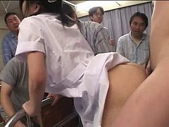 Asian, Gangbang, Japanese, Nurse, Xhamster