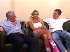 Old And Young, Threesome, Xhamster