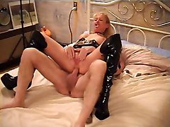 Blonde, Boots, Gangbang, Xhamster
