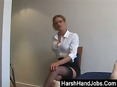 Blonde, Secretary, Tube8