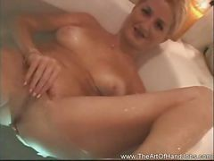 Handjob, Bath, Beauty, Drtuber